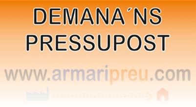 Armaripreu - Pressupost Armari a Mida