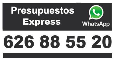 Presupuesto Whatsapp Express